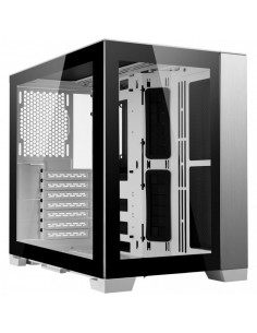 Lian Li O11 Dynamic Mini, Midi-Tower, vidrio templado - blanco casemod.es