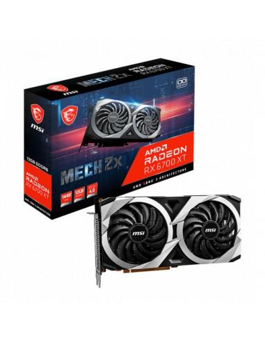 MSI Radeon RX 6700 XT Mech 2X 12G OC, 12288 MB GDDR6 casemod.es