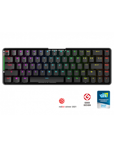 ASUS ROG Falchion kabellose Gaming Tastatur, MX-Red casemod.es