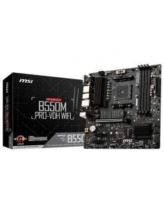PLACA MSI B550M PRO-VDH WIFI,AMD,AM4,B550,GBLAN+WIFI+BT,MATX