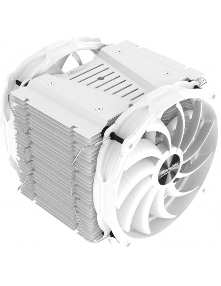 Alpenföhn Brocken 3 White Edition - 2x140 mm casemod.es